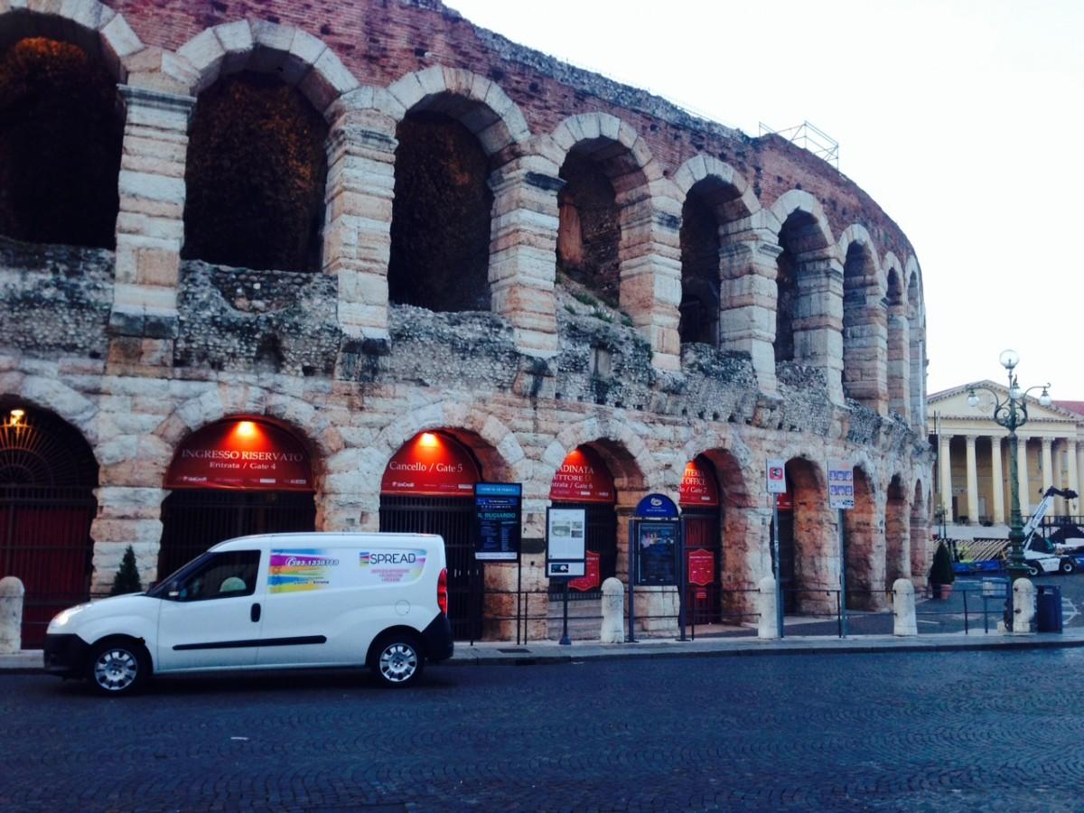 Spread, partner per le affissioni del comune Verona