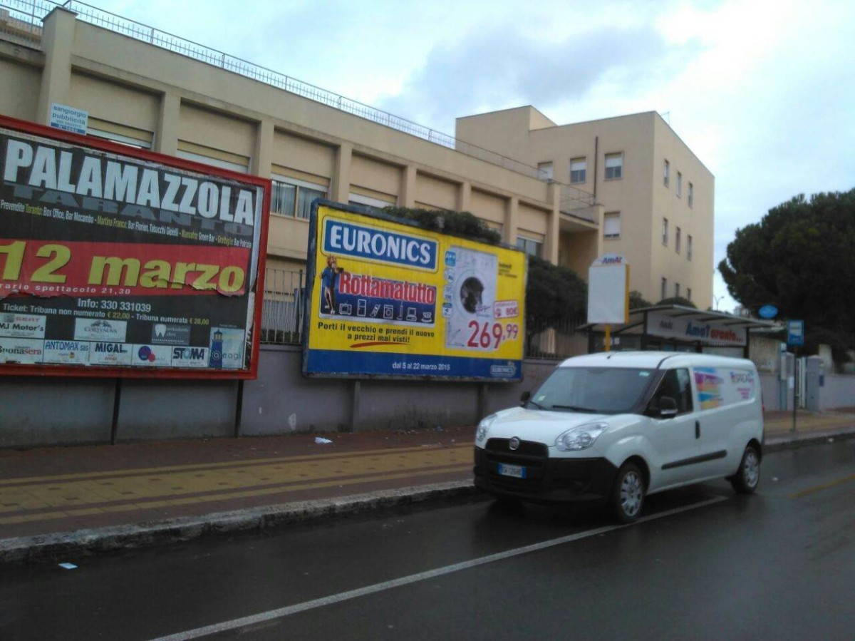 Poster 6×3 Taranto