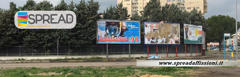 Affissioni poster 6×3 Taranto