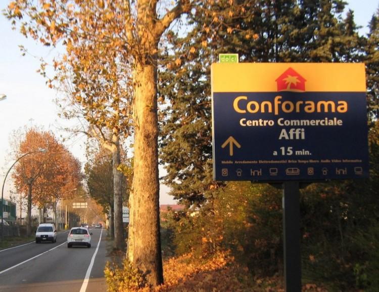 Cartellonistica a Verona, Vicenza, Mantova