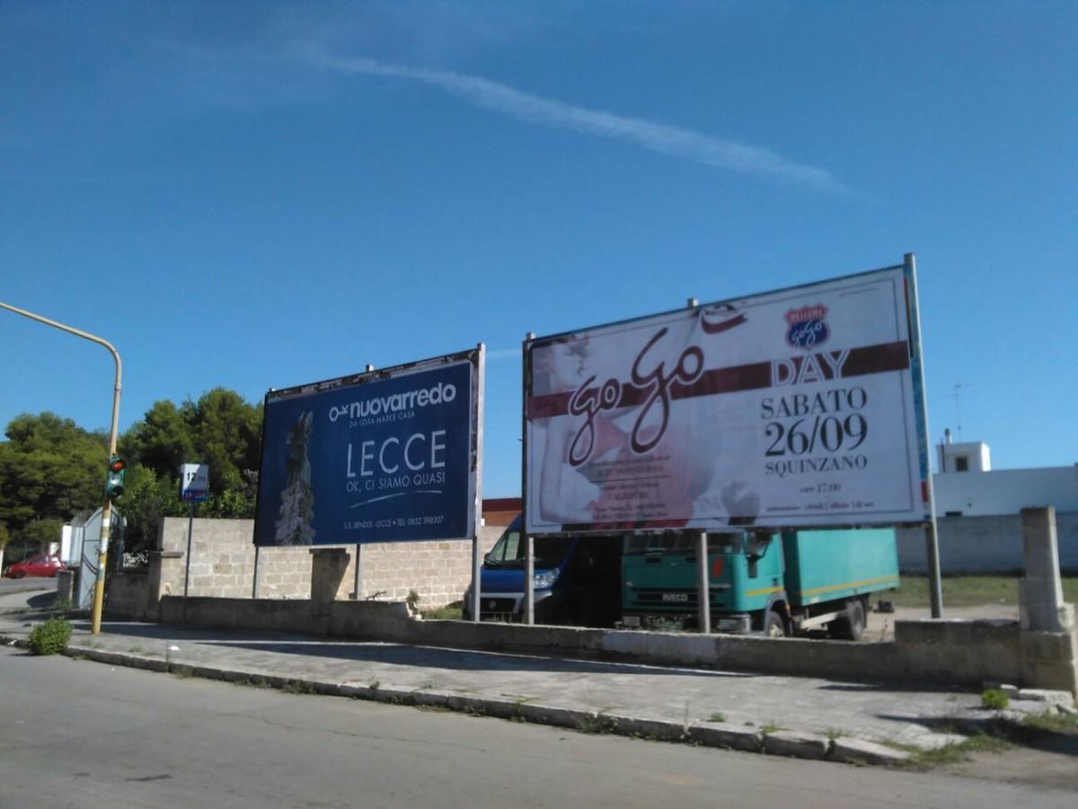 Poster 6×3 Lecce e provincia