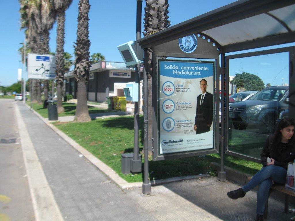 Pensiline Bus Lecce