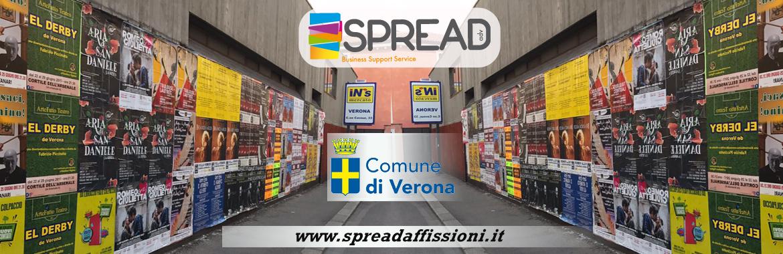 Spread Affissioni Manifesti Verona