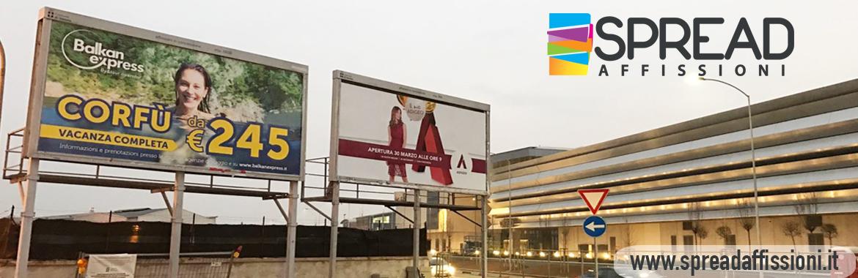 affissioni 6x3 Verona