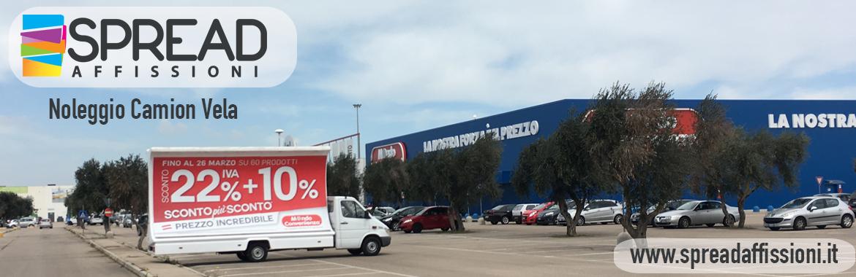Noleggio camion vela Taranto