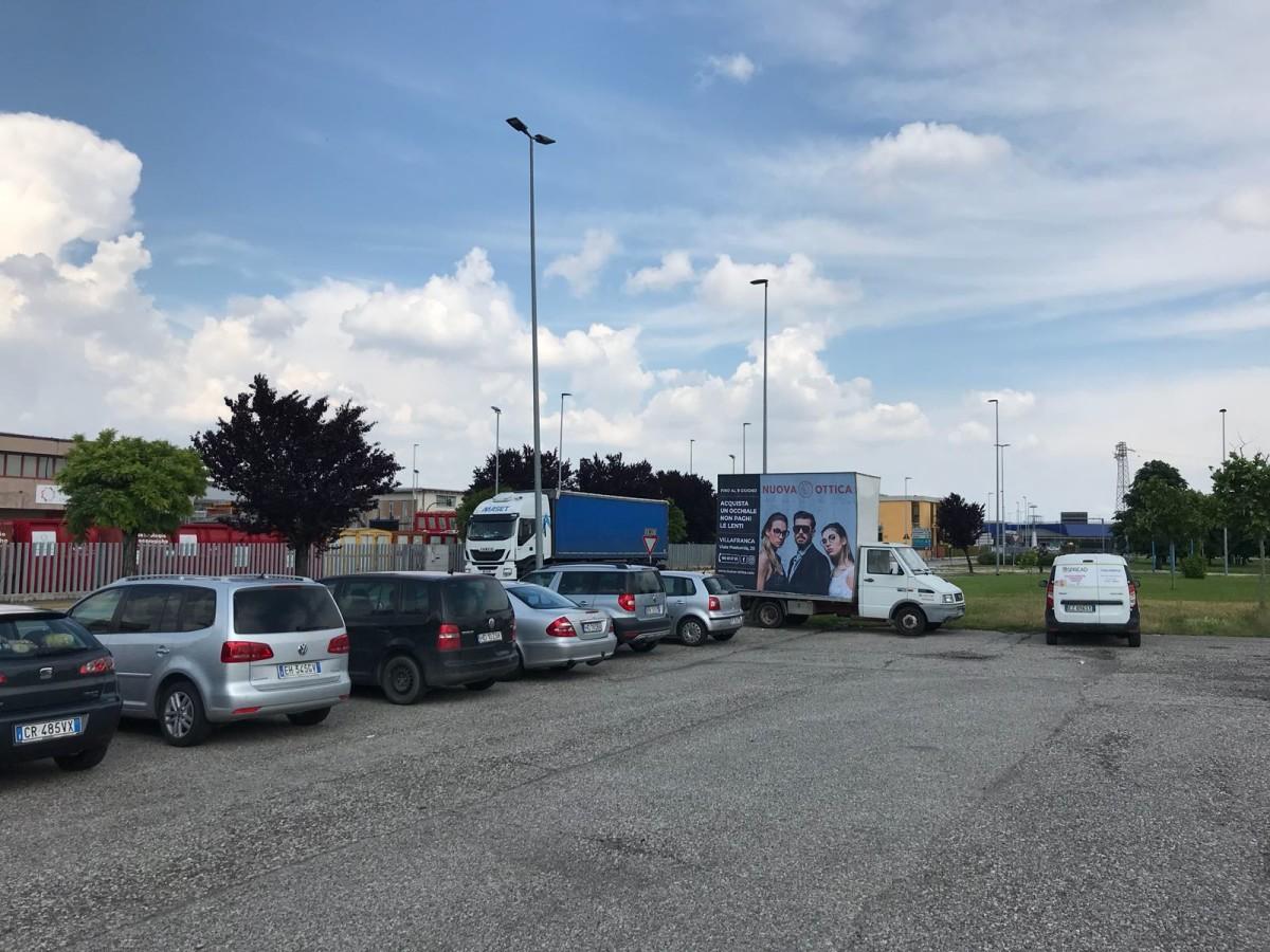 Affissioni camion vela Verona