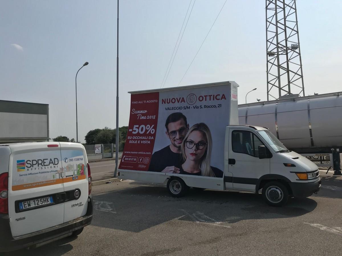 Noleggio camion vela Udine