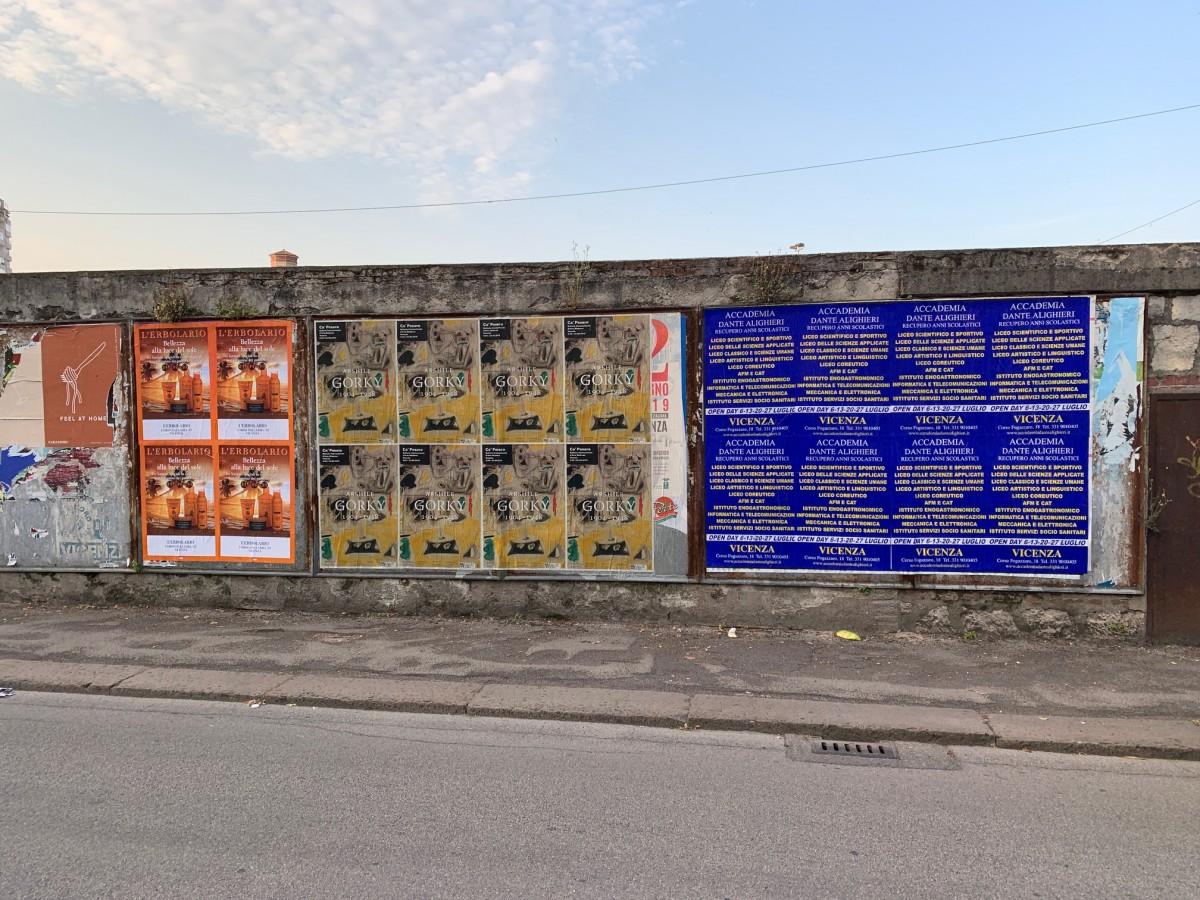 Affissioni comunali