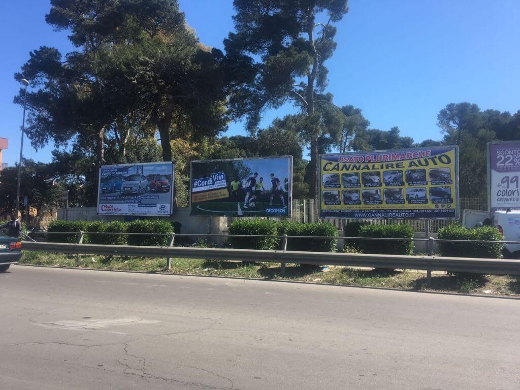 Affissioni pubblicitarie Brindisi